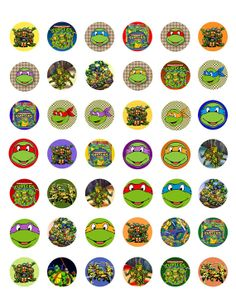 Teenage Mutant Ninja Turtles  Printable 1 by ElleCoutureCreations, $1.99