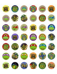 Teenage Mutant Ninja Turtles  Printable 1 by ElleCoutureCreations, $1.99
