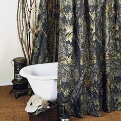 Mossy Oak New Break-Up Shower Curtain