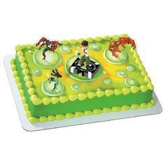 Ben 10 cake for Mason's 5th birthday party