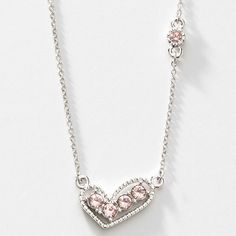 Juliet Necklace - $39 - great Valentines Day gift - Swarovski Crystals  Alison Manaher's Personal Website