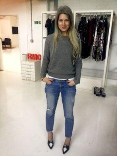 Twitter / RMOcomms: @BritishVogue 's Sarah Harris ..Womens Fashion style icon. Sarah Harris. BRITISH Vogue.