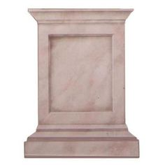 Pair this Classic Pedestal Base Wall Mural Trompe L'oeil Stencil with our Corinthian Capital Trompe L'oeil Stencil. Use tape to create a column for a realistic trompe l'oeil stencil effect. - Details