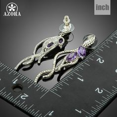 Romantic Elegant Purple AAA+ Cubic Zirconia Abstractive Parrot Earrings For Women TE0182 Like and Share if you agree! http://www.fashionobi.com/product/azora-romantic-elegant-purple-aaa-cubic-zirconia-abstractive-parrot-earrings-for-women-te0182/ #shop #beauty #Woman's fashion #Products