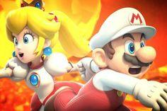Mario and Peach by on DeviantArt Peach Mario, Mario And Princess Peach, Princesa Peach, Super Mario Art, Dead Space, My Little Pony, Fire, Deviantart, Nintendo Games