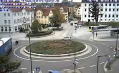 Live camera Rottenburg am Neckar - Webcam auf dem Eugen-Bolz-Platz Rottenburg, Germany. Current view and daylight picture.