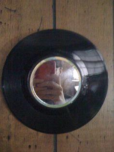 Vinyl Mirror    #Mirror, #Record, #Vinyl