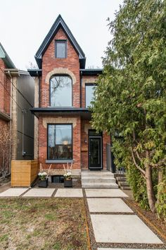 Red Bricks, Curb Appeal, Toronto, Gossip Blog, Real Estate, Cabin, House Exteriors, Mansions, House Styles