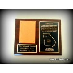 "Atlanta Mission, LDS Missionary Plaques - A - Use promo code ""BLESSED1"" for 50% off your order!"