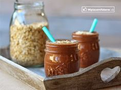 Smoothie all'avena e cacao
