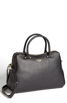 kate spade new york 'charles street - audrey' leather satchel available at #Nordstrom
