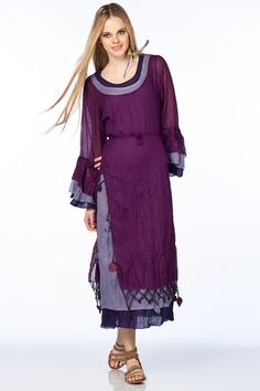 Otantik Gümbet Elbise - Fuşya