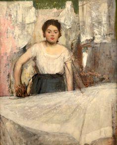 Woman Ironing, Edgar Degas, 1869