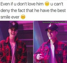 his smile is so contagious. when i see it i can't help but smile too
