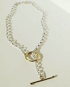 By tothemetal Handmade Sterling Silver, Sterling Silver Necklaces, Chunky Chain Necklaces, Choker, Brass, Gifts, Jewelry, Rolo, Sterling Necklaces