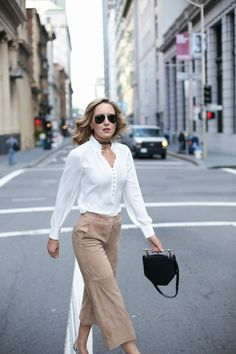 fashionable outfit for working women