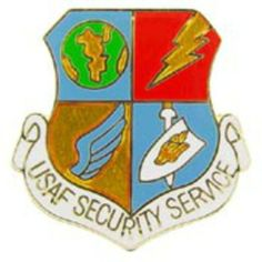 "U.S. Air Force Security Service Pin 1"" by FindingKing. $8.99. This is a new U.S. Air Force Security Service Pin 1"""
