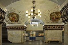 Московское метро/モスクワ地下鉄/Moscow Metro/russia