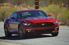 2015 red Mustang