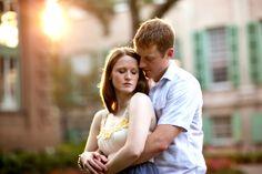 College of Charleston wedding engagement via Carmen Ash Photography