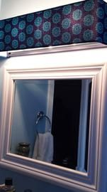 Custom Lampshades   Fabric   Bathroom Vanity Light Covers