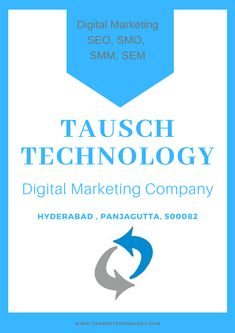 Tausch Technologies is the best IT Services Company in Hyderabad, We offer solutions and services like Web Development, Digital Marketing services and It Services Company, Best Seo Company, Seo Marketing, Digital Marketing Services, Search Engine Optimization, Hyderabad, Web Development, Web Design, Technology