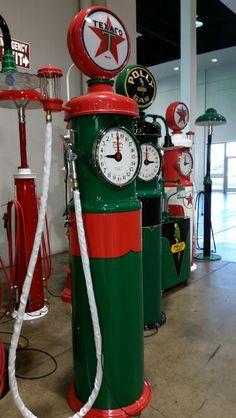 Tokheim Volumeter clockface pumps.