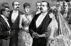 President Tyler, 54, married 24-year-old Julia Gardiner in New York City