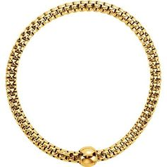 Sterling Silver Yellow Gold Plated 4.3mm Woven Stretch Bracelet >>> Check this awesome product @ http://www.amazon.com/gp/product/B00DS6D4CE/?tag=splendidjewelry07-20&pcd=150716044938