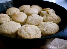 In Praise of James Beard's Mother's Biscuits.  For an even creamier biscuit replace 1/2 of cream with sour cream.  dp