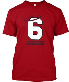 d5621f7fa Stan Musial - That s how you sign with the Angels Shirt ONLY  12. Cardinals  Legend