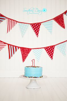 1st Birthday Cake Smash | Southern Daisy Photography
