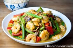 thaise garnalen cocos curry
