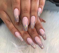 Holo Tips  // Follow Alyciaa 's Nail Board For More ✨