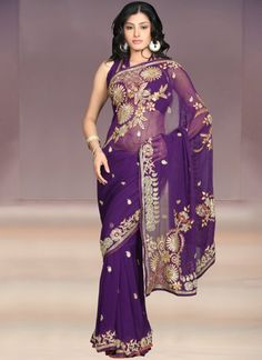 Charming #Pure Georgette #Saree