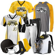 Team Pack Elite Owning It - Features 2 Custom Sublimated Short Sleeve Softball Jerseys & Softball Uniforms, Softball Jerseys, Team Uniforms, Softball Drills, Fastpitch Softball, Baseball Caps, Team Mom, A Team, Baseball Injuries