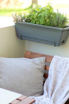 Our Balcony Makeover - Loepsie Tiny Balcony, Apartment Balconies, Throw Pillows, Bed, Home, Terrace, Balcony, Decorations, Cushions