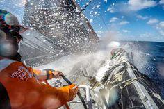 Volvo Ocean Race Leg 5  - Team Alvimedica in testa nelle acque aperte.  #VolvoOceanrace #VOR #Auckland #Itajai #Leg5 #Sial #Sials #Vela #TeamAlvimedica