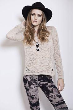 Florencia Llompart colección otoño invierno 2014. Moda sweaters tejidos  invierno 2014. Otoño Invierno 2014 b145fd0b8aa5