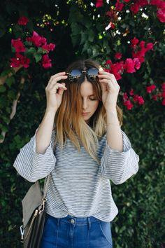 70s INSPIRED SUMMER - TAKE AIM LA Lifestyle & Fashion Blog by Michelle Madsen Round Sunglasses for Summer | www.TakeAim.nu