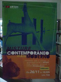 Cartaz desenvolvido para Projeto Interdisciplinar no 2º semestre de 2015.