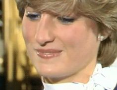 Princess Diana....in her eyes I see a hurt sadness/disappointment with a fixed smile hiding it.