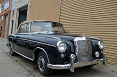 # 18092 This 1958 Mercedes-Benz 220S Ponton Cabriolet  Convertible . It is equipped with a 4 Speed Manual transmission. The vehicle is Blue with a Tan interior. - 1958 Mercedes 220S Ponton Cabriolet Dark Blue with  Tan interior. Excellent original car. Mechanically superb. For only $79,500. - AM-FM - Contact Internet Sales at 718-545-0500 or gullwingny@aol.com for more information. - -
