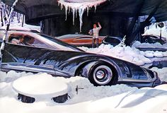 A winter wonderland from Syd Mead