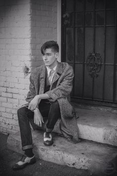 """Teddy boy"" style, I like!"