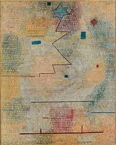 Paul Klee Rising Star German Title: Aufgehender Stern