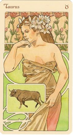 ☆ Taurus Astrological Oracle :¦: Artist  Antonella Castelli ☆