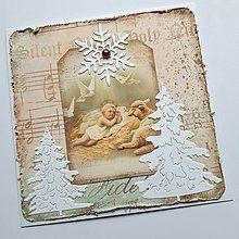 Papiernictvo - Vianočná pohľadnica - 8519887_
