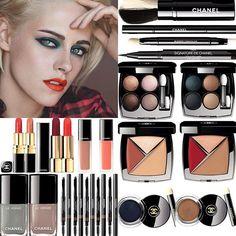 Chanel Fall 2017 makeup @marytushik