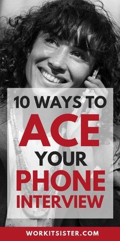 10 Tips to ACE your next Phone Interview. Worried about having a phone interview? These 10 tips will help you breeze through your next phone interview! Interview Tips For Nurses, Interview Skills, Interview Questions And Answers, Job Interview Tips, Interview Techniques, Job Career, Career Advice, Life Advice, Phone Interviews